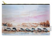 Seven Little Boats Carry-all Pouch