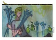 Seven Of Swords Illustrated Carry-all Pouch