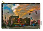 Seventh And Bleeker At Sunrise Nyc Carry-all Pouch