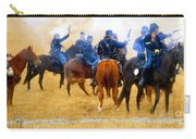 Seventh Cavalry In Action Carry-all Pouch
