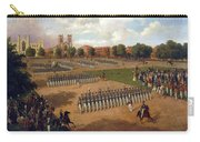 Seventh Regiment On Review. Washington Square. New York Carry-all Pouch