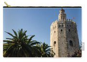 Seville - A View Of Torre Del Oro 2 Carry-all Pouch