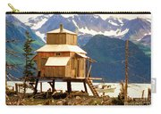 Seward Alaska House Of Stilts Carry-all Pouch