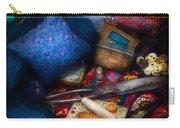 Sewing - Devoting To Sewing  Carry-all Pouch by Mike Savad