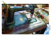 Sewing Machine With Sissors Carry-all Pouch