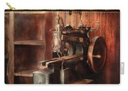Sewing - Sewing Machine For Saddle Making Carry-all Pouch by Mike Savad