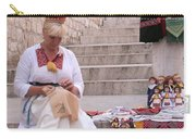 Sewing Souvenirs In Old Dubrovnik Carry-all Pouch