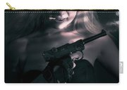 Sexy Woman Assassin Carry-all Pouch