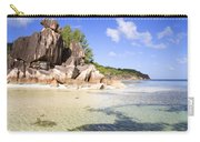 Seychelles Rocks Carry-all Pouch
