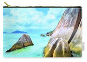 Seychelles Shallows Carry-all Pouch