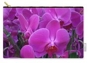 Sf Pink Flowers Carry-all Pouch
