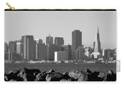 Sf Skyline  Bw Carry-all Pouch