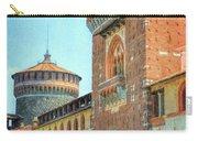 Sforza Castle Milan Italy Carry-all Pouch