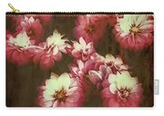 Shabby Chic Floral Design Carry-all Pouch