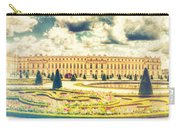 Shabby Chic Hdr Panorama Versailles Paris Carry-all Pouch