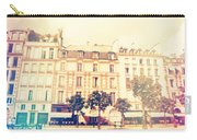 Shabby Chic Street Of Paris Carry-all Pouch