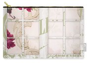 Shabby Cottage French Doors Carry-all Pouch