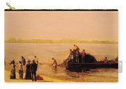 Shad Fishing At Gloucester On The Delaware River 1881 Carry-all Pouch