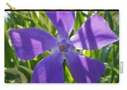 Shaded Greater Periwinkle Carry-all Pouch
