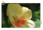 Shaded Yellow Orchid Carry-all Pouch