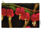 Shades Of Bleeding Hearts Carry-all Pouch