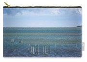 Shades Of Blue On The Horizon Carry-all Pouch