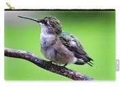 Shades Of Green - Ruby-throated Hummingbird Carry-all Pouch