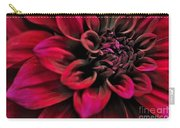 Shades Of Red - Dahlia Carry-all Pouch by Kaye Menner