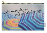 Shades Of Summer Quote Carry-all Pouch