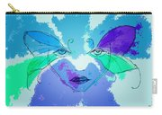 Shades Of The Butterfly Carry-all Pouch