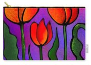 Shades Of Tulips Carry-all Pouch