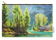 Shades Of Turquoise Carry-all Pouch