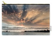 Shadow Cloud Over Humboldt Bay Carry-all Pouch