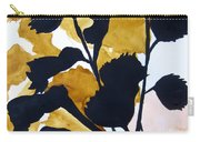 Shadow Hibiscus Carry-all Pouch