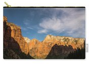 Shadow Mountain Zion National Park Utah Carry-all Pouch