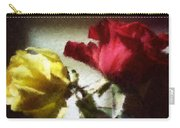 Shadow Roses Carry-all Pouch