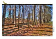 Shadows In Autumn Carry-all Pouch