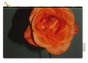 Shadows Of A Peach Rose Carry-all Pouch