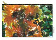 Shadows Of Sunflowers Carry-all Pouch