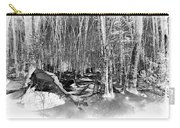 Shadows Of Winter Carry-all Pouch