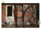 Shadows - Old Farmhouse - Hen Carry-all Pouch