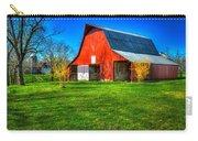 Shadows On The Barn Tennessee Farm Art Carry-all Pouch