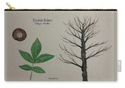 Shagbark Hickory Tree Id Carry-all Pouch