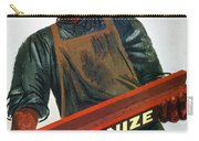Shahn: Steel Union Poster Carry-all Pouch
