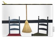 Shaker Chairs And Broom Carry-all Pouch