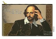 Shakespeare Quote Ten Carry-all Pouch