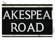 Shakespeare Road Uk Carry-all Pouch