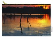 Shallow Water Sunset Carry-all Pouch