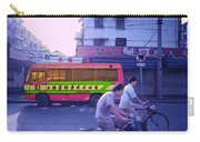 Shanghai Pink Bus Carry-all Pouch