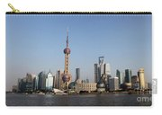 Shanghai Skyline Carry-all Pouch